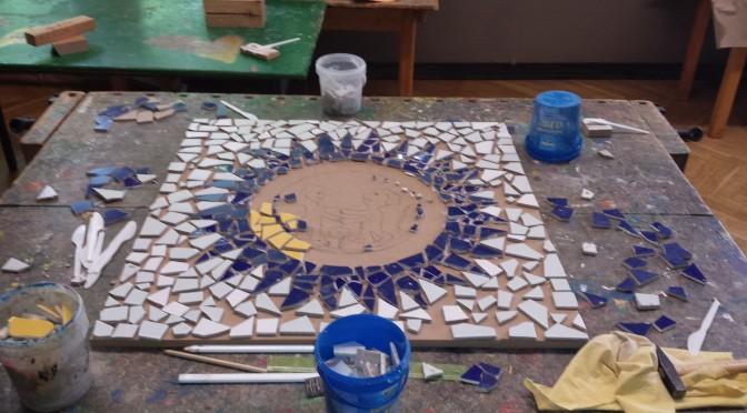 Ein Mosaik entsteht