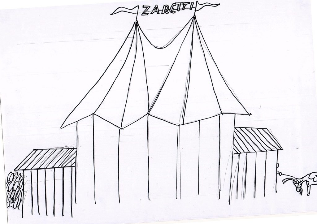 manege frei im zirkus zaretti  schule kamminer straße